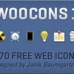 WooCons #1: 170 бесплатных web-иконок