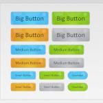 Анимированные пузырьковые кнопки на CSS3