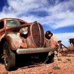 20+ фотографий старых ржавых автомобилей