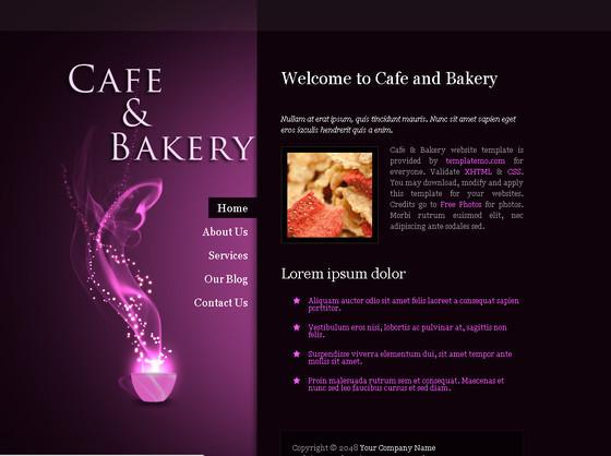 Cafe Bakery