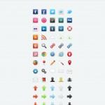 65 красочных иконок в PSD&PNG: DDIcons