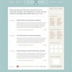 Дизайн макета для блога (PSD)