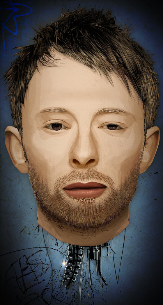 Thom Yorke the Android