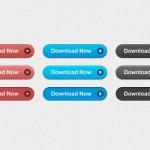 50 прекрасных бесплатных PSD кнопок для ваших веб-приложений
