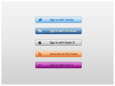 five_login_buttons