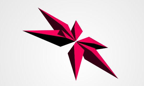 Spikes - CSS 3D Shape