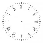Аналоговые часы на CSS3