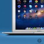 Macbook Air (PSD)