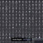 Awake — бесплатный веб-шрифт