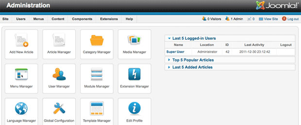Two And A Half of Joomla   New Features of Joomla 2.5