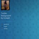 Бесплатный профессиональный бэкграунд для Твиттера (PSD)