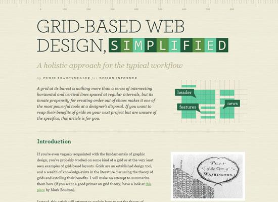 Grid Based Web Design