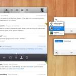 Концепт Twitter-приложения  (PSD)