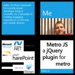 Простая разработка веб-интерфейсов под стиль Metro (Windows 8) с помощью Metro JS