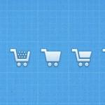 Иконки корзины для интернет-магазина (PSD/PNG)