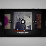 Дизайн музыкального плеера iPhone (PSD)