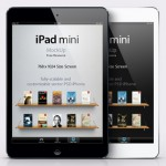 iPad Mini в векторе (PSD)