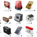 Бесплатные наборы иконок на коммерческую и бизнес темы