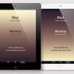 iPad Retina в PSD