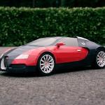 Bugatti Veyron из бумаги