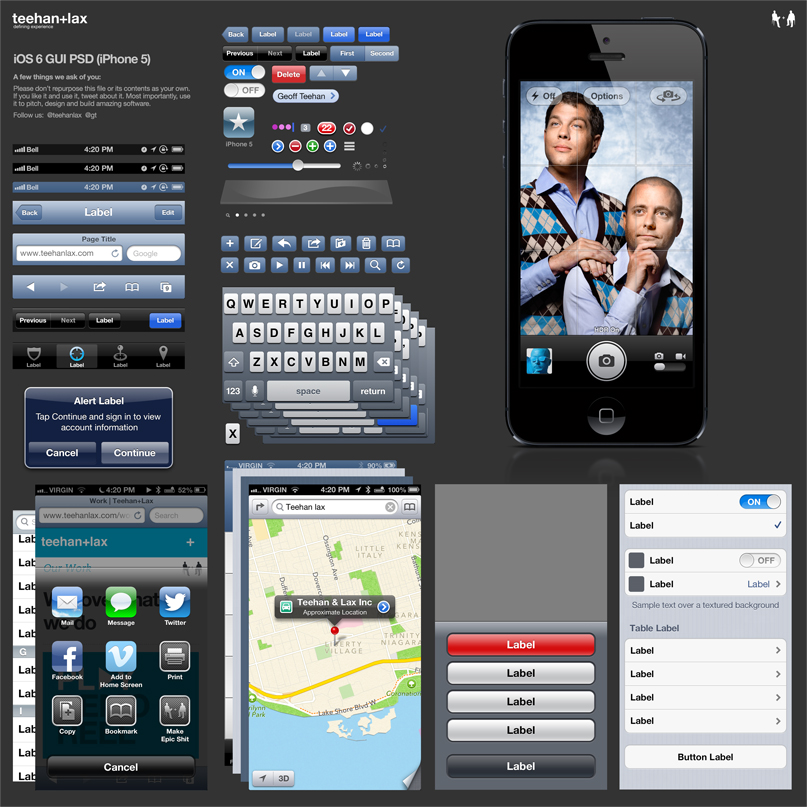 iOS6_GUI_iPhone5