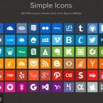 Simple Icons – полный набор красивых и бесплатных социальных иконок