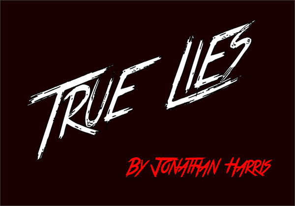 True Lies font by TattooWoo