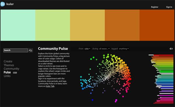 Инструменты для подбора цветовой схемы сайта