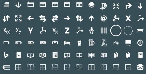 Иконки в стиле Modern