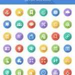 25+ наборов иконок на разные тематики за 2015 год
