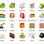 Набор качественных иконок для интернет-магазина