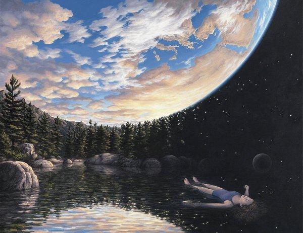 19 картинок с невероятными оптическими иллюзиями