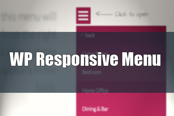 WP Responsive Menu - создание адаптивного меню на Wordpress