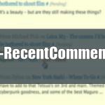Вывод последних комментариев в Wordpress — плагин WP-RecentComments