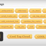 Красивый виджет Wordpress для вывода облака меток — Cool Tag Cloud
