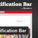 Всплывающая панель уведомления — плагин WordPress Notification Bar