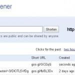 PHP класс создания коротких ссылок от Google