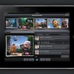 Макет приложения для iPad (PSD)