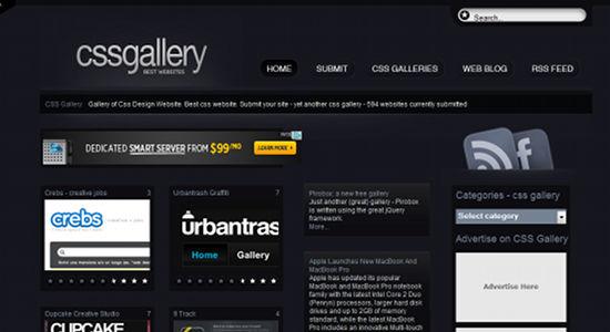 CSS Gallery Theme