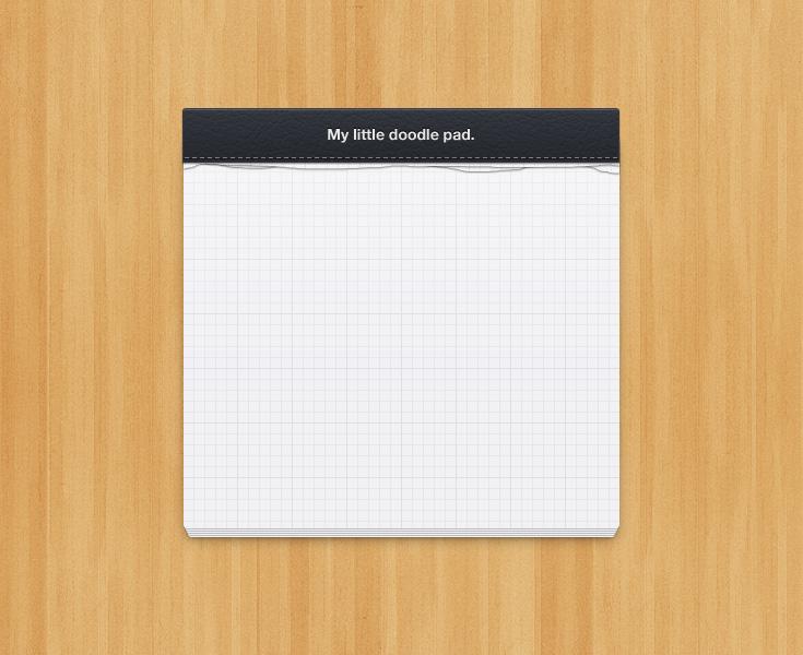 Little Notepad Design 1