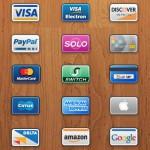 Мини-карты: 15 иконок кредитных и дебетовых пластиковых карт