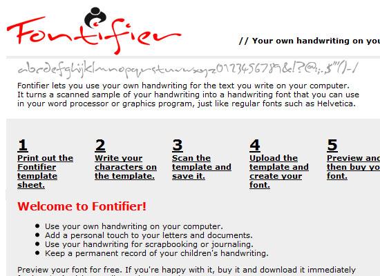 Fontifier