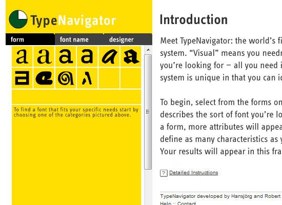 Type Navigator