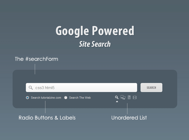 Google Powered Site Search