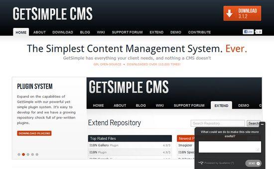 Get Simple CMS