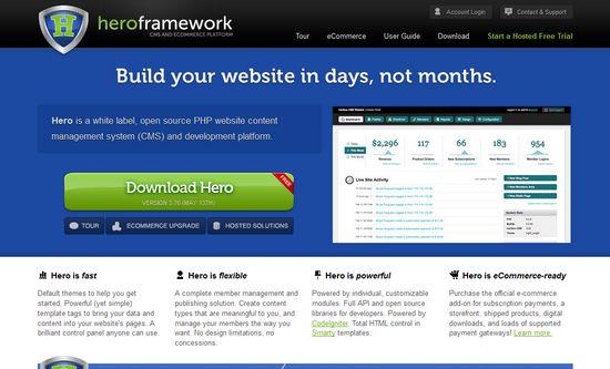 hero framework