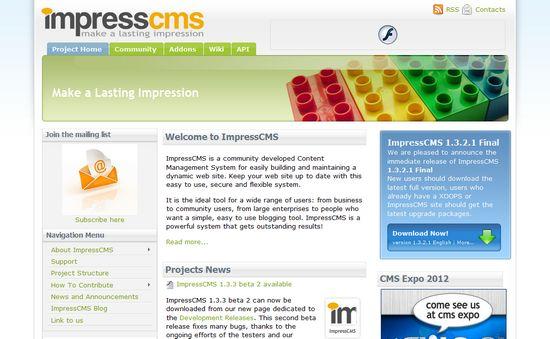 Impress CMS