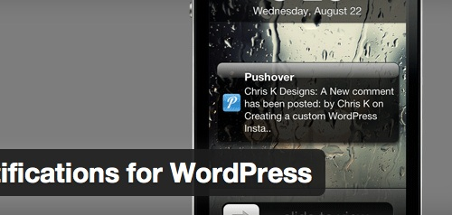 <br /> pushover notifications