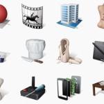 34 арт-иконки на тему творческих профессий (PNG)