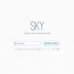 Комплект пользовательского интерфейса Sky (PSD)